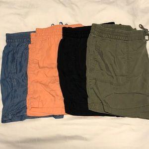 Old Navy bundle: Mid-rise Tencel Utility Shorts